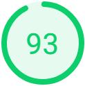 レンタルサーバーおすすめ5位-mixhostのPC表示速度